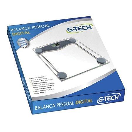 BALANÇA DIGITAL GTECH - GLASS 10
