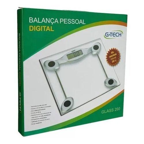 Balança digital Glass 200 - G-tech