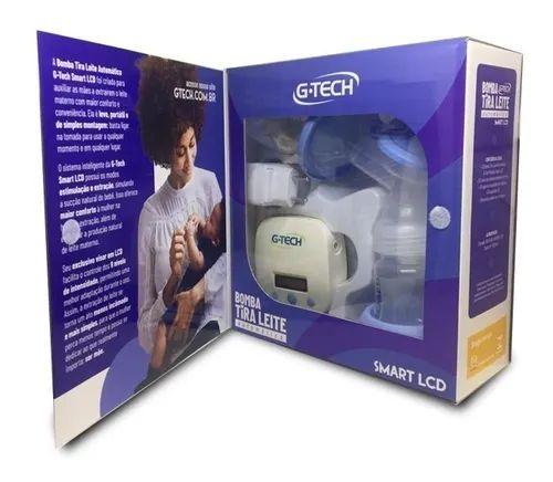 Bomba tira leite automática Smart LCD - G-tech