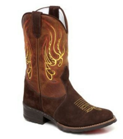 Bota Texana Feminina - Loja Carrero Boots 8b47cdb21db