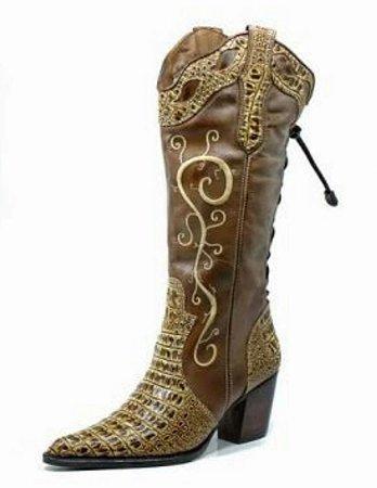 f685394cf71 BOTA COUNTRY FEMININA - Loja Carrero Boots