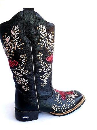 Bota feminina metal - Loja Carrero Boots ec1f42fec17