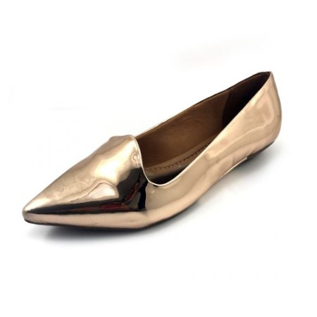 Sapatilha Vizzano Metal Glamour 1131.529 - Ouro Rosado