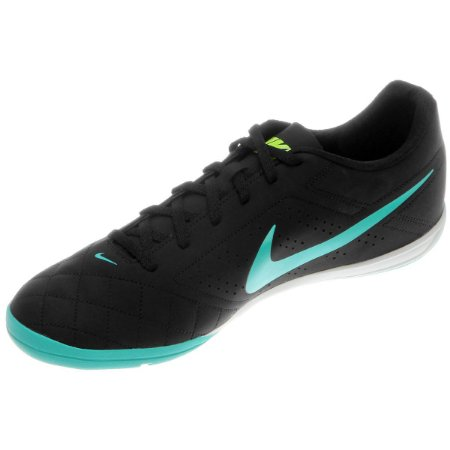 Chuteira Nike Futsal Beco 2 - Preto/Azul