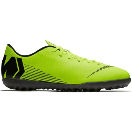 Chuteira Nike Society Vapor 12 Club - Verde/Preto