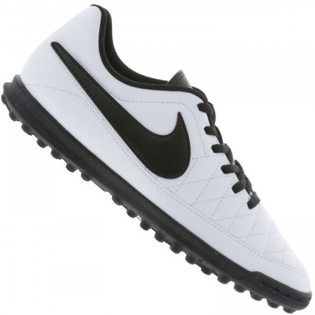 Chuteira Nike Society Majestry - Branco/Preto