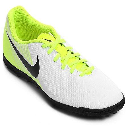 Chuteira Nike Society MagistaX Ola 2 - Branco/Verde