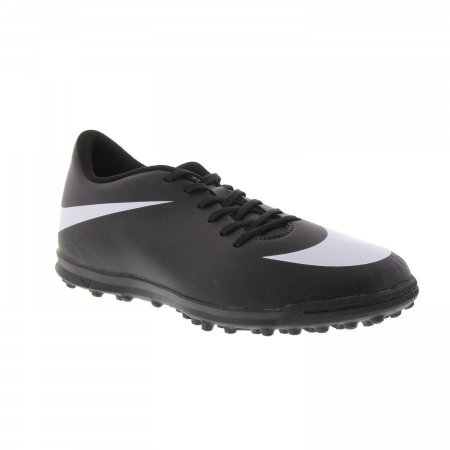 Chuteira Nike Society Bravata - Preto/Branco