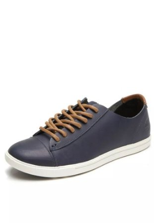 Tênis Timberland Ek Hudston Leather Azul