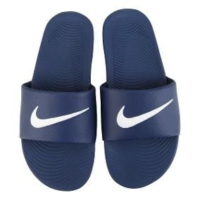 Sandália Nike Kawa Slide - Azul/Branco