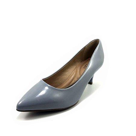 Sapato Beira Rio Scarpin Salto Baixo Verniz Premium