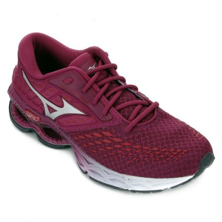 Tênis Mizuno Wave Creation 21 Rosa Feminino