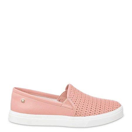 Tênis Petite Jolie Slip-on Feminino California PJ4822 - Rosa