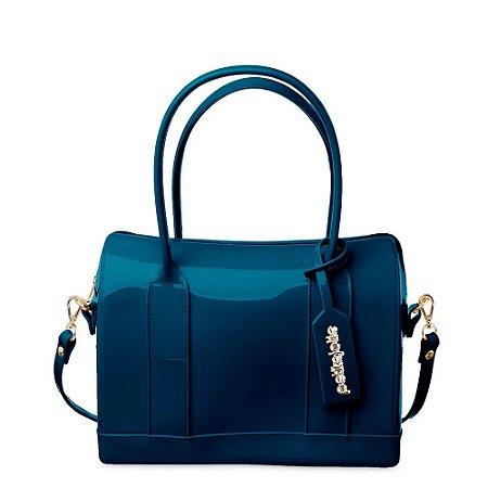 Bolsa Petite Jolie Baú Feminina Bloom PJ4988 - Azul