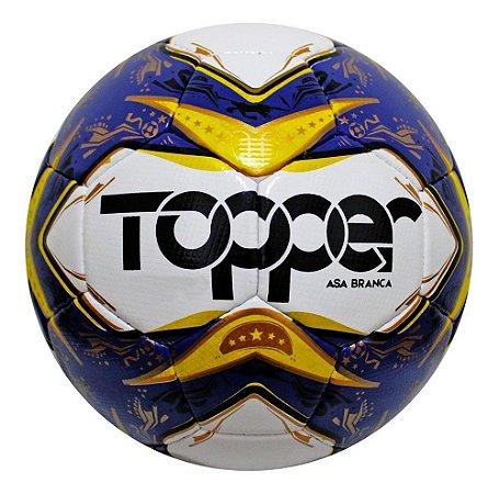 Bola Topper Futebol Futsal Oficial Costurada Asa Branca