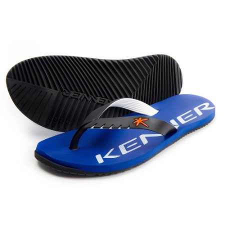 Chinelo Kenner Red Mixed Azul com Preto Masculino