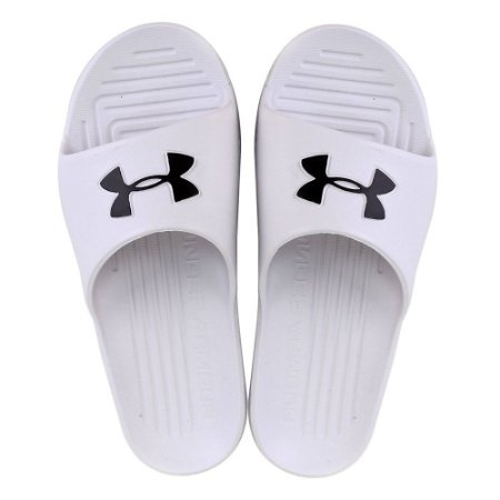Chinelo Under Armour Slide Core Branco Masculino