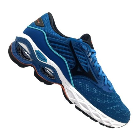 Tênis Mizuno Wave Creation 22 Azul Masculino