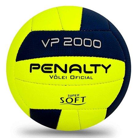 Bola de Vôlei Penalty Vp 2000 X Amarelo com Roxo