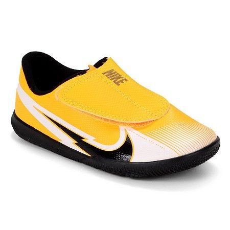 Chuteira Futsal Infantil Nike Mercurial Vapor 13 Cl Laranja