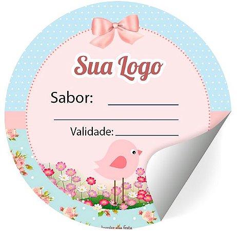 Etiquetas Adesivas Personalizadas Promoção Brinde 4X4Cm