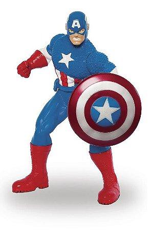Boneco Capitão América Gigante Avengers Comics Mimo 0496