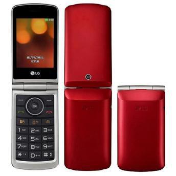 """Celular LG G360 Dual Chip 3.0"""" Cam 1.3MP Rádio FM Vermelho"""