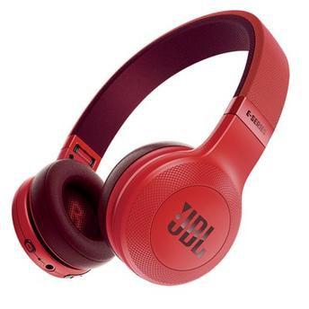 Fone De Ouvido Bluetooth JBL E45 BT Vermelho