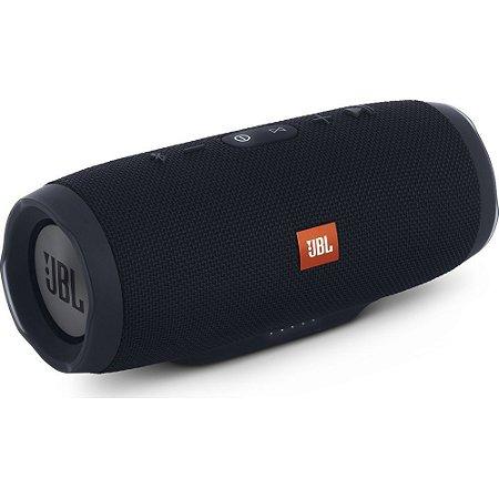 Caixa Bluetooth Jbl Charge 3 Bluetooth Resistente água - Preta