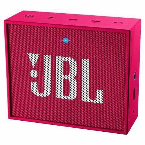 JBL Caixa de Som Bluetooth JBL Go Pink