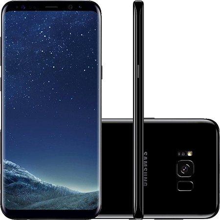 "Smartphone Samsung Galaxy S8+ Dual Chip Android 7.0 Tela 6.2"" Octa-Core 2.3 GHz 64GB Câmera 12MP - Preto"