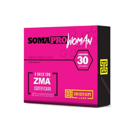 SOMA PRO WOMAN 30 CAPS (NOVO SOMATODROL)