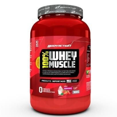 100% WHEY MUSCLE 900GR