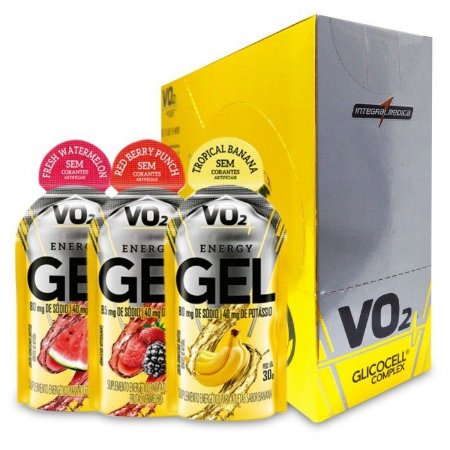 VO2 ENERGY GEL GLICOCELL COMPLEX