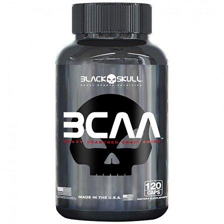 BCAA 2:1:1 120 CAPS BLACK SKULL