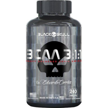 BCAA 3:1:1 240 CAPS BLACK SKULL