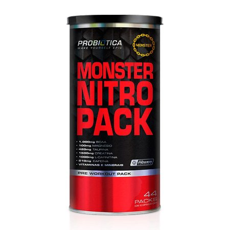 MONSTER NITRO NO2 44PACK