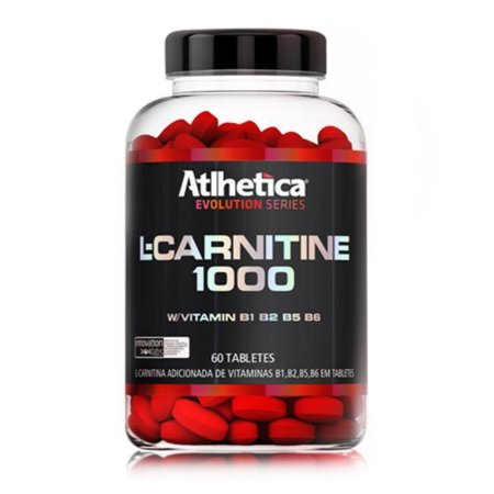 L-CARNITINE 1000 60 TABS - ATLHETICA NUTRITION