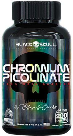 CHROMIUM PICOLINATE 200 CAPS  - BLACK SKULL