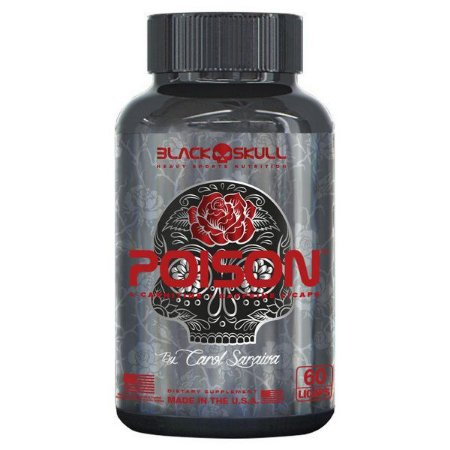 POISON 60 CAPS WOMAN THERMOGENIC