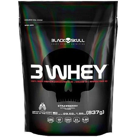 WHEY 3W 837G - BLACK SKULL