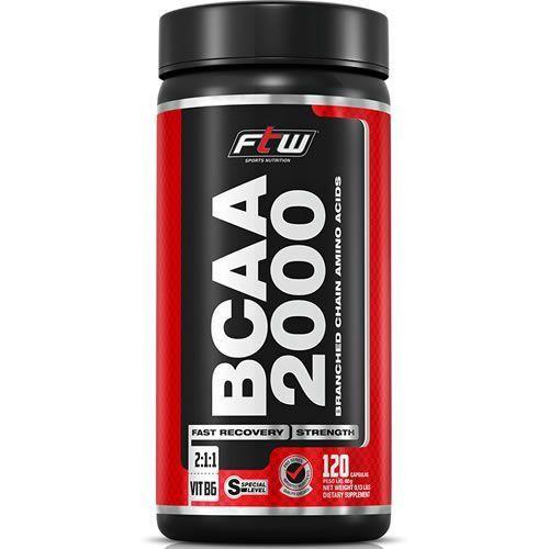 BCAA 2000 120 CAPS - FITOWAY