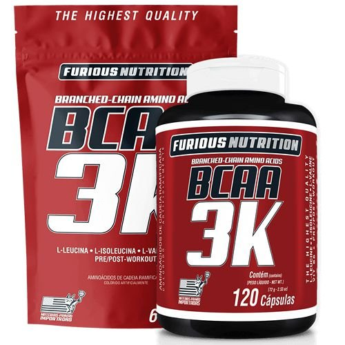 BCAA 3K - FURIOUS NUTRITION
