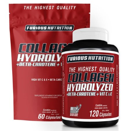 COLAGEN HYDROLYZED - FURIOUS NUTRITION