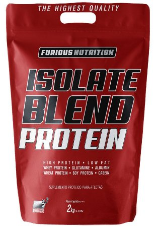 ISOLATE BLEND PROTEIN REFIL 2KG - FURIOUS NUTRITION