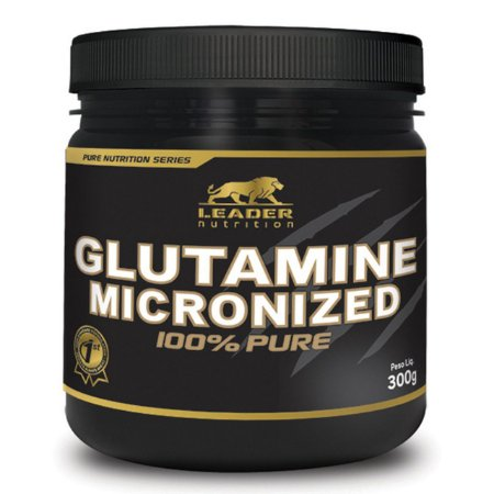 GLUTAMINE 100% MICRONIZED 300G LEADER NUTRITION