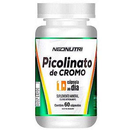 PICOLINATO DE CROMO 60 CAPS - NEONUTRI
