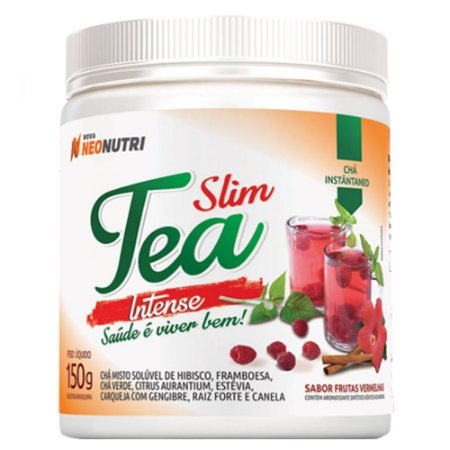SLIM TEA INTENSE 150G FRUTAS VERMELHAS