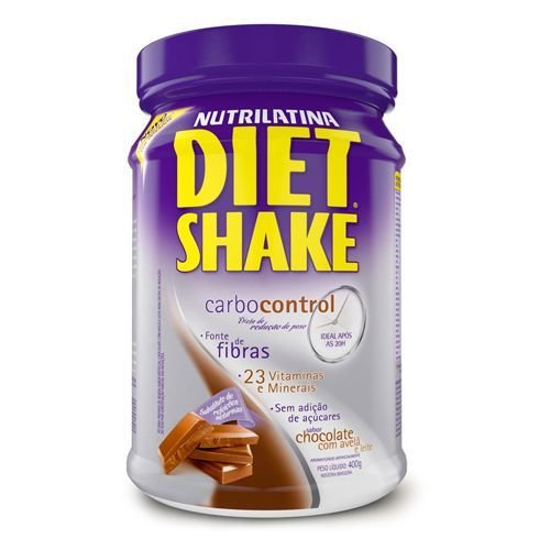 DIET SHAKE CARBOCONTROL 400G CHOCOLATE C/ AVELA
