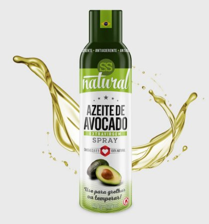 AZEITE DE AVOCADO SPRAY 1UN-128ML